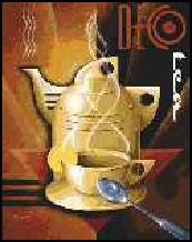 Art Deco Tea